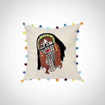 Picture of 'Al- Borqo3' cushion, Size: 42x42cm
