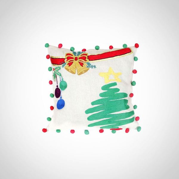 Picture of Chistmas Bell cushion, Size: 42x42cm