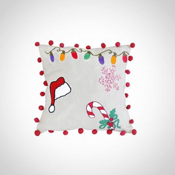 Picture of Christmas cushion, Size: 42x42cm