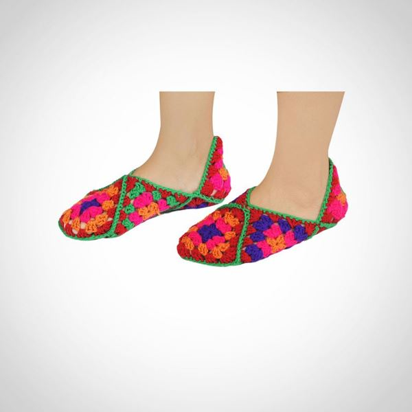 Picture of Wool house slippers