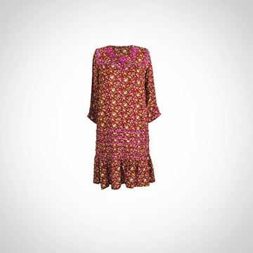 Picture of The Traditional Fallahy Fucshia Galabeya for girls