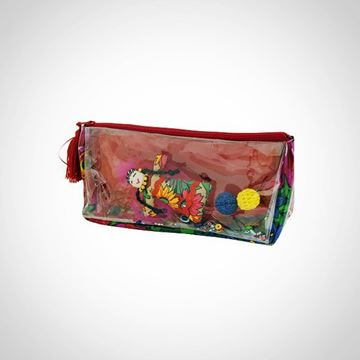 Picture of Colorless pencil case with doll L 12 * W 24