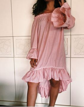 Picture of High low ruffled dress is certainly a summer must have