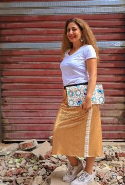 Picture of Golden skirt