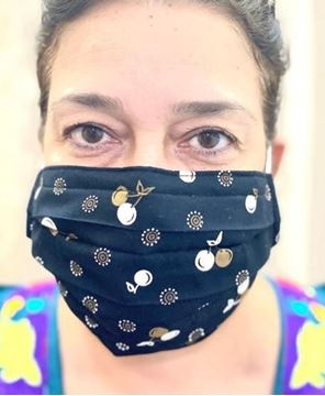 Picture of Adults masks are composed of 3 layers including a filter and nose support
