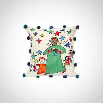Picture of Hand stitched Mesaharaty cushion