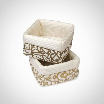 Picture of Calligraphy and Chain bread box