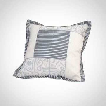 Picture of Patchwork Calligraphy cushion