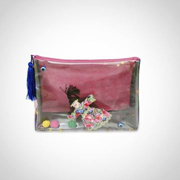 Picture of Plastic laminated 'Doll' pouch27*20