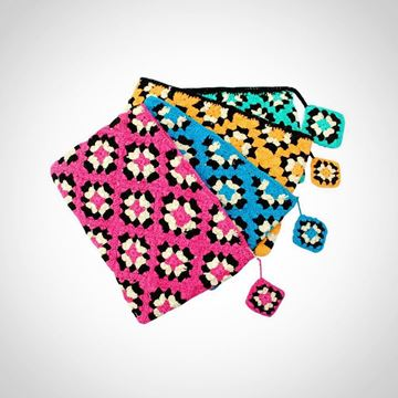 Picture of Crochet bag in 4 colors  22*26