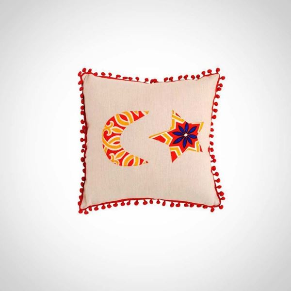 Picture of Crescent  Star cushion