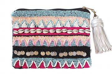 "Picture of Beaded ""Breeze"" clutch  L 20 * W 28 cm"