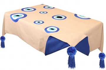 Picture of Table cloth eyes. Size 140*250 cm