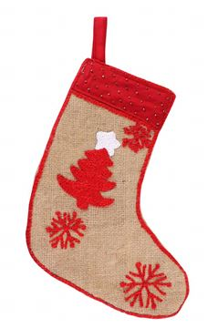 Picture of Embroidered Christmas stocking