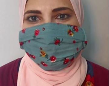 Picture of Masks are composed of 3 layers including a filter and nose support