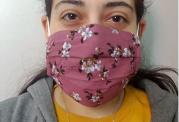 Picture of MASKS ARE COMPOSED OF 3 LAYERS INCLUDING A FILTER AND A NOSE SUPPORT