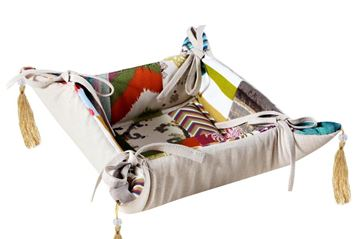 Picture of Patchwork bread basket