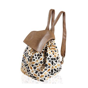 Picture of Back pack with Islamic design embellished with beads.   L 34 * W 41